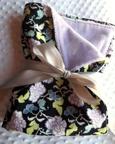 Baby Girl Large Cuddle Stroller Blanket in Violet by BucciAndBubba, $29.00