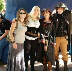 Steampunk takes denver comic con