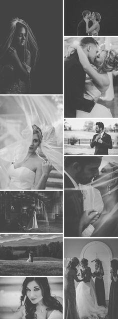 Black and white wedding photography | Virginia Wedding Photographer