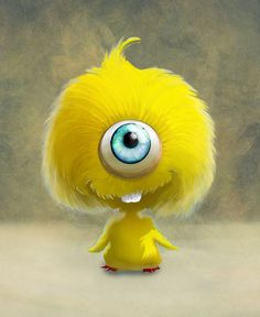 I like this little creature because it is much like a previous character as it is happy and fury but when it is angered could be dangerous