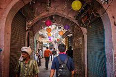 44 lugares lindos para visitar na Índia - Chandni Chowk, Old Delhi