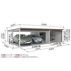 Carport Garage, Garage House, Car Garage, Carport Designs, Garage Design, House Design, Modern Carport, Showroom Design, House Elevation