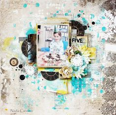 Just My Scrapping World.. : Layout for Marion Smith Designs using Nirvana once again !