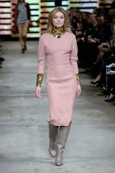By Malene Birger AW14 pink dress long sleeves