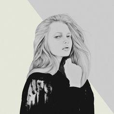 By Tantowi Gilang Pratikto  Sketch 53- MOOD , @katiusha_feofanova,  @foxharvardfoto - - - #illustration #artwork #pencil #instaart #instasketch #drawing #mood #VSCO #vscocam #fashion #editorial #fashionillustration #instadaily #graphic #art #fashionsketches #haircut #pantone