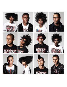 Afro Punk hair styles  #afropunk