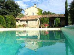 piscine de la propriété avec Chambres d'hôtes à vendre à Goult en Vaucluse