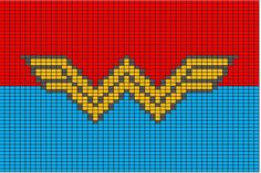Super hero crochet charts - superman, batman, wonder woman, green lantern, the hulk, flash, spiderman, captain america...