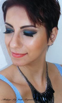 Makeup by Iulia Bajenaru: Blue Brown