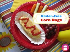 Gluten-Free Corn Dogs baked in the oven - they are so easy and the kids love them! http://freebies4mom.com/oscarmayer/ #glutenfree #shop #cbias
