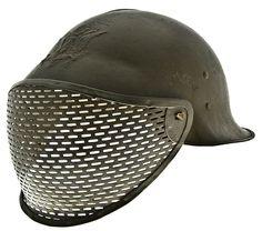 Steampunk helmet ideas--WW I Franco-American helmet