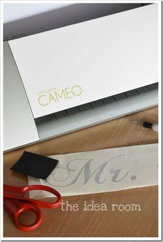 """Silhouette Cameo ~ """"the idea room"""""""