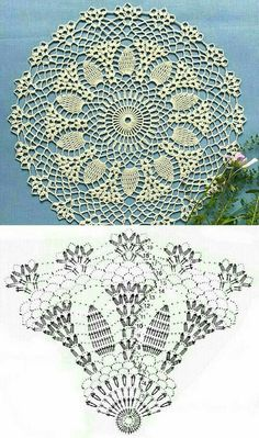 Crochet Thread Patterns, Free Crochet Doily Patterns, Crochet Mat, Crochet Home, Love Crochet, Crochet Gifts, Filet Crochet, Beautiful Crochet, Crochet Doilies