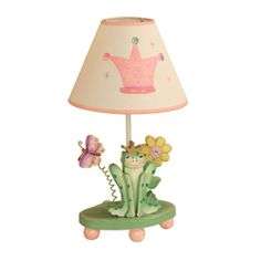 Princess and Frog Crown Lamp Prince & Princess Decor - LuxuryLamb.Com