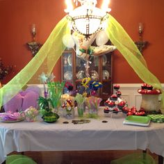 Tinkerbell birthday party