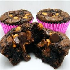 "Peanut Butter Cup Brownies | ""These are awesome. I have made these numerous times and am always asked to make them. They are even better when you put chocolate icing on them."" -bethchampion"