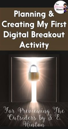 The timer is ticking. Will your students be able to escape? Breakouts are a great way to make content interactive and encourage collaboration among students. Learn more about breakout activities, also known as Escape Room games, and how I planned and crea English Lesson Plans, English Lessons, High School English, English Classroom, High School Students, Middle School, Activities, How To Plan, Digital