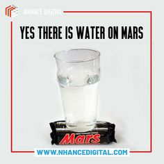 """NASA once pranked the whole world on April Fool's Day by telling them that they found """"Water on Mars"""". In 2005, NASA's picture of the day was a glass of water standing on top of a chocolate bar called """"Mars"""" Happy April Fool's Day! #shockingfacts #facts💯 #earthfacts #sciencefacts #historyfacts #knowledgeispower #nasa #mars #aprilfools Social Media Marketing Agency, Digital Marketing, Water On Mars, Nasa Pictures, Seo Manager, Shocking Facts, Science Facts, April Fools Day, Knowledge Is Power"""