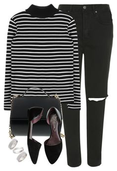 """""""Untitled #2"""" by the1960sbombshell ❤ liked on Polyvore featuring mode, Topshop, Givenchy, Report, women's clothing, women's fashion, women, female, woman en misses"""