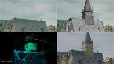 Here is a new exemple of our work on Das kleine Gespenst - Der Film.