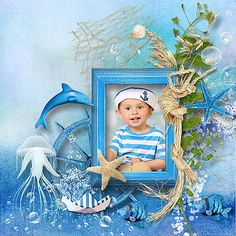 Layout Design, Layouts, Scrapbook, Sea, Frame, Blue, Home Decor, Picture Frame, Decoration Home