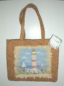 Capelli Beach Tote Bag with seashells