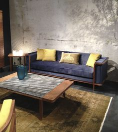 Pool sofa and coffetable #casa #casafurniture #sofa #coffeetable