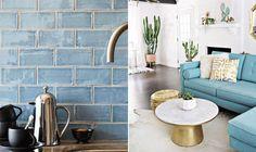 Como utilizar os Tons de Azul na decoração da sua casa.