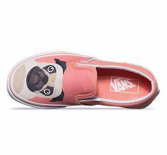36d31ecf5e3 Vans Classic Slip-On Kids shoes (pug) at Black Wagon at Black Wagon