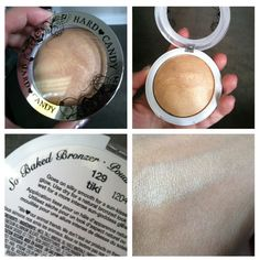 Hard Candy So Baked Bronzer in tiki is known as a dupe for MAC's highlighter in Soft & Gentle!/I use this and its better than most expensive Highlighters i've used Drugstore Highlighter, Drugstore Makeup, Concealer, Bronzer, Kiss Makeup, Love Makeup, Makeup Tips, Beauty Dupes, Beauty Hacks