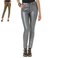 896e97579e9 Bongo Juniors skinny stretch metallic coated jeans 1 3 5 7 9 NEW $50 #Bongo