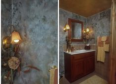 When you Want to get a new expression of the bathroom decoration, of course you will need to think about the Paint Finishes For Bathroom Walls. We can... Lisa Design, Bathroom Furniture Design, Big Bathrooms, Paint Finishes, Bathroom Wall, Candle Sconces, Wall Lights, It Is Finished, Walls