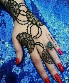 📌 easy to make mehndi design 2019 & beautiful henna new design Latest Henna Designs, Henna Art Designs, Mehndi Designs For Girls, Mehndi Designs For Beginners, Modern Mehndi Designs, Dulhan Mehndi Designs, Mehndi Design Pictures, Mehndi Designs For Fingers, Beautiful Mehndi Design