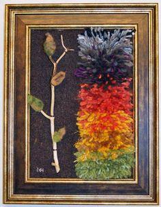 miniryijyjä - mielikuvia metsästä Rya Rug, Painting, Dots, Punto De Cruz, Painting Art, Paintings, Painted Canvas, Drawings