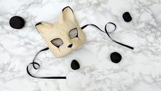 Cat Masquerade Mask by AnotherFaceStudio on Etsy