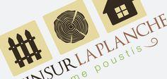 Création d'un logo pour la société Le pin sur la planche, artisanat du bois.