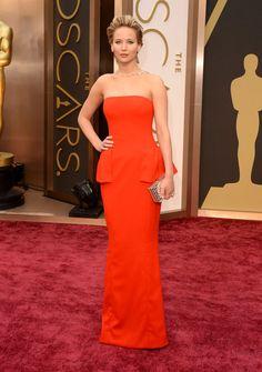 Jennifer Lawrence Oscar Nominees The Oscars 2014 | Academy Awards 2014