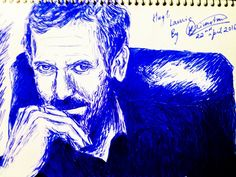 Hugh Laurie by on DeviantArt Hugh Laurie, Joker, Deviantart, Fictional Characters, The Joker, Fantasy Characters, Jokers, Comedians