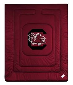 South Carolina Gamecocks Jersey Mesh Full/Queen Comforter from 'The Locker Room Collection' by Kentex