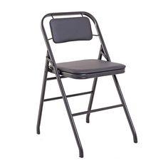 Cadeira Flex dobrável estrutura em metal com pintura power coat revestida em couro ecológico, Podendo ser produzida em outras cores de estrutura e revestimento, solicite mais informações Fabricação Desmobilia