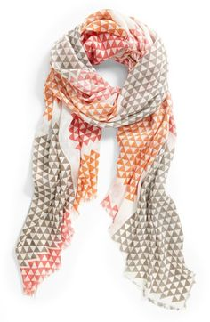 Vince Camuto 'Lightbox Piece Good' Scarf | Nordstrom Really great scarf.