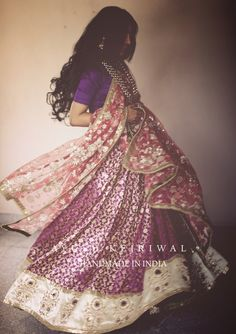 Lengha by Ayush Kejriwal For purchase enquires email me at ayushk@hotmail.co.uk or whats app me on 00447840384707. We ship WORLDWIDE. #sarees,#saris,#indianclothes,#womenwear, #anarkalis, #lengha, #ethnicwear, #fashion, #ayushkejriwal,#Bollywood, #vogue, #indiandesigners
