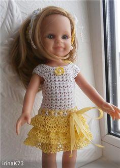 Наряд для кукол Паола Рейна / Одежда для кукол / Шопик. Продать купить куклу / Бэйбики. Куклы фото. Одежда для кукол