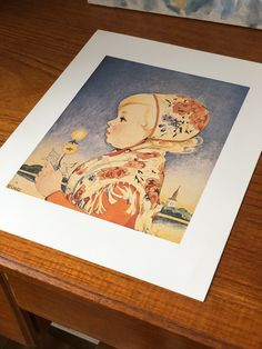 Excited to share this item from my shop: Vintage Swedish Einar Nerman print traditional drakt Wall decor art Scandinavian foIk art