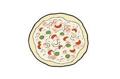 Pizza (Kuva: Elina Vanninen) Pizza, Enamel, Accessories, Vitreous Enamel, Enamels, Tooth Enamel, Glaze, Jewelry Accessories