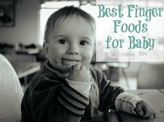 Best Finger Foods for Baby