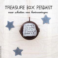 Coeurblonde producten | Treasure Box Pendant