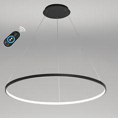 40W Pendant Light Modern Design LED Ring 220V 240 100 120V Special