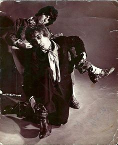 Jeff Beck and Rod Stewart