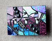 """Reserved Item for """"Anita"""" - Custom Job - If you want a similar wall plate, just message me.. $10.00, via Etsy."""